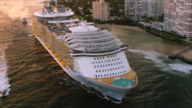 Harmony of the Seas Departure Montage