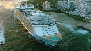 Harmony of the Seas Aerials B-Roll