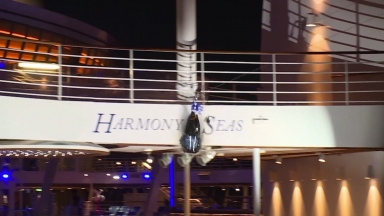 Harmony of the Seas Naming Ceremony Compilation