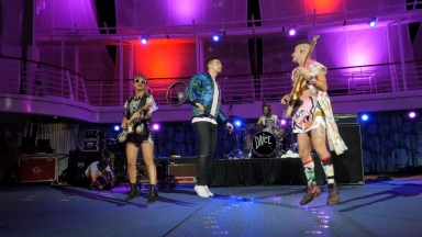DNCE Joins Royal Caribbean for Ultimate Friendsgiving: Harmony of the Seas Serves up Cake by the Ocean!
