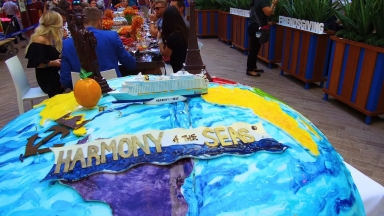 Cake by the Ocean with DNCE onboard Harmony of the Seas