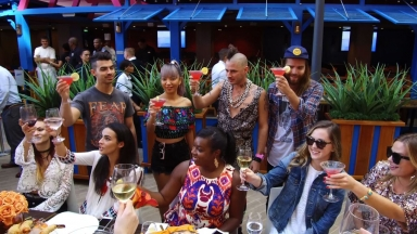 Friendsgiving with DNCE onboard Harmony of the Seas