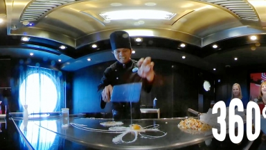 360 Izumi Hibachi on Harmony of the Seas