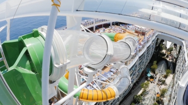 A Perfect Storm of Twists and Turns: Guests Plunge into A Water Adventure on Royal Caribbean's Harmony of the Seas