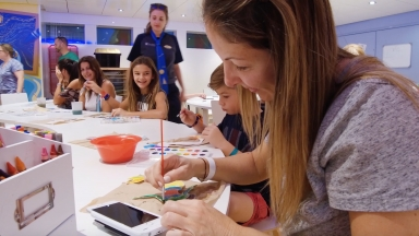 Making Memories as Easy as A, B, C: Royal Caribbean and Popular YouTube Channel, Muffalo Potato, Inspire Budding Artists