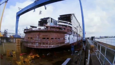 Constructing the World's Largest Ship: Symphony of the Seas Brings New Adventures