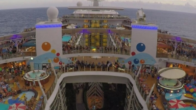 The Great American Eclipse on Oasis of the Seas Short