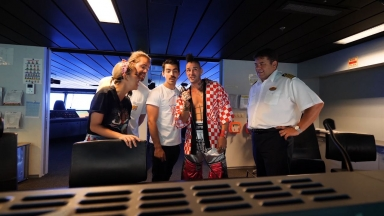 DNCE Takes Over Oasis of the Seas: The Bridge