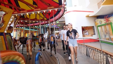 DNCE Takes Over Oasis of the Seas: Carousel
