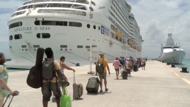 Royal Caribbean Hurricane Irma Disaster Recovery B-roll