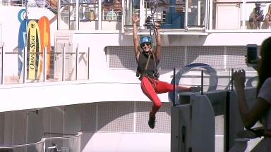 Royal Caribbean Adventurist Shay Mitchell Onboard Oasis of the Seas Teaser