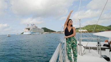 Royal Caribbean Adventurist Shay Mitchell: Explores St. Thomas
