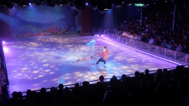Putting a Spin on Technology: High-tech Entertainment on Ice Steals the Show on Royal Caribbean