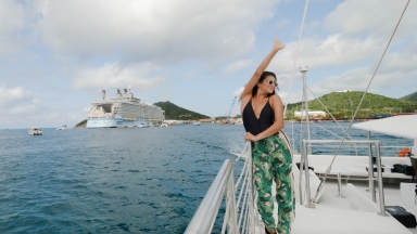 Royal Caribbean Adventurist, Shay Mitchell EPK