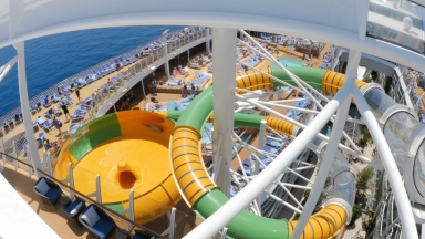 Symphony of the Seas Perfect Storm B-Roll