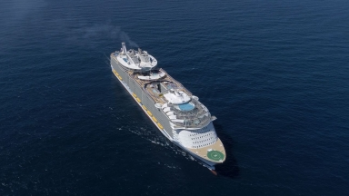 Symphony of the Seas Aerials B-Roll