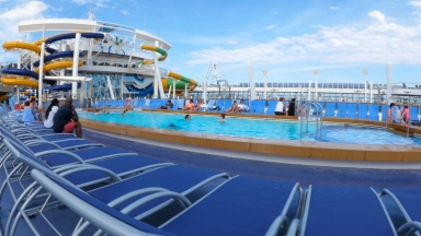 Symphony of the Seas Pool Deck B-Roll