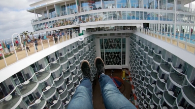 Symphony of the Seas POV B-roll