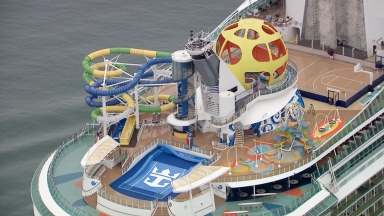 Independence of the Seas Aerial B-roll – May 2018
