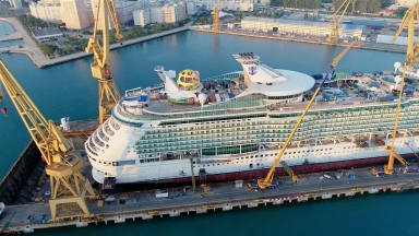 Mariner Of The Seas >> Re Engineering A Cruise Ship Mariner Of The Seas Gets New
