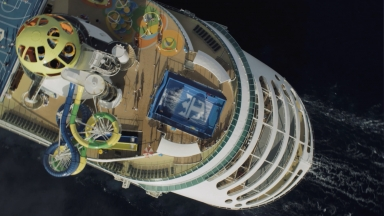 Mariner of the Seas Aerials B-roll