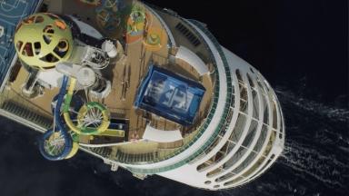 Mariner of the Seas Aerials B-roll