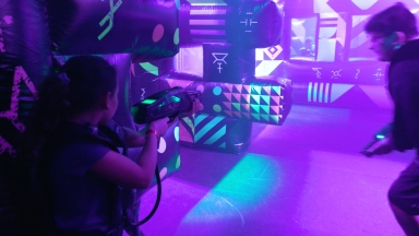 Royal Caribbean Goes Intergalactic: Battle for Planet Z Laser Tag