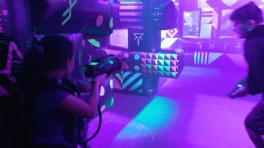 Royal Caribbean Goes Intergalactic: Battle for Planet Z Laser Tag