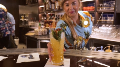 Inside The Bamboo Room: Royal Caribbean Serves Up The Royal Zombie