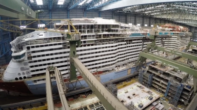 Spectrum of the Seas Construction Update