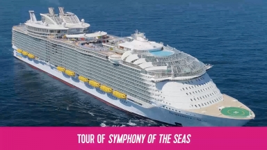 Tour of Symphony of the Seas (With Graphics)