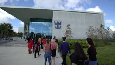 Twenty Miami High Schools Introduced to Professional Opportunities at Royal Caribbean Entertainment Studios EPK