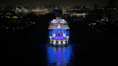 Symphony of the Seas Miami Arrival B-roll