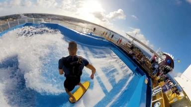 Take a Tour of Symphony of the Seas' Sports Deck