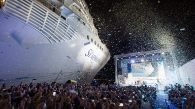 The First-Ever Godfamily Officially Names Symphony of the Seas: Celebrating the World's Largest Cruise Ship