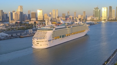 Amped Up Navigator of the Seas Arrives in Homeport of Miami: Royal Caribbean Debuts the Ultimate Short Caribbean Getaway