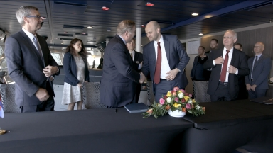 Spectrum of the Seas Delivery Ceremony