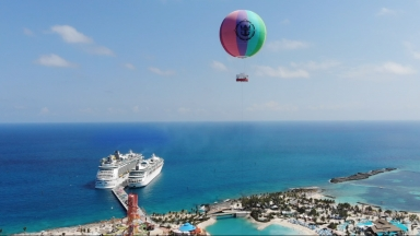 Up, Up and Away at Perfect Day CocoCay B-Roll
