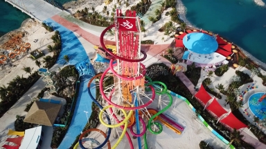 Bringing Thrill to Life on Perfect Day at CocoCay: Royal Caribbean Constructs Thrill Waterpark