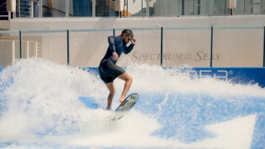 Spectrum of the Seas FlowRider B-Roll