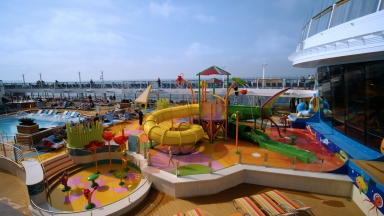 Spectrum of the Seas Splashaway Bay B-Roll