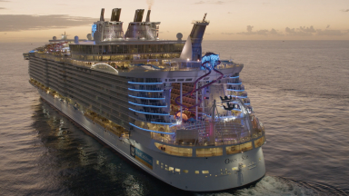 Oasis of the Seas Aerials B-Roll
