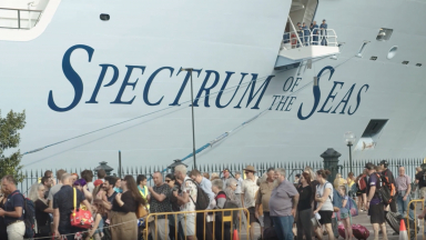 Spectrum of the Seas Humanitarian Cruise for Australian Bushfire First Responders