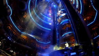 A High-Flying Extravaganza At Sea: Royal Caribbean's Centrum Debuts Vertical Theatrics